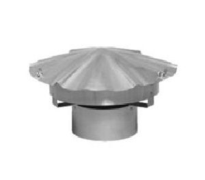 10'' Homeowners Choice 24 Gauge Stainless Steel Deluxe Rain Cap