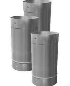 10'' X 24'' Homeowners Choice 24 Gauge Stainless Steel Chimney Liner