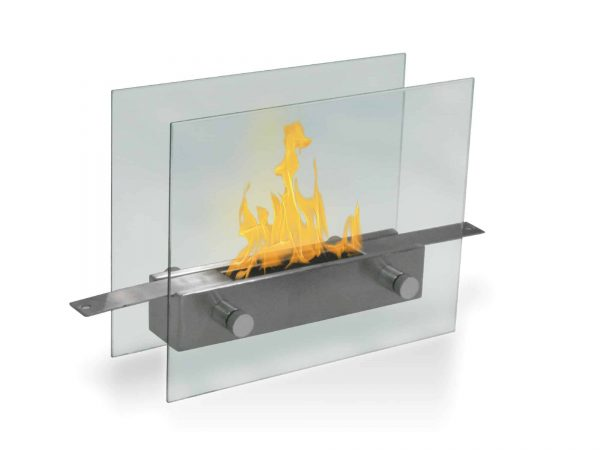 """14"""" Glass Indoor Outdoor Anywhere Fireplace"""