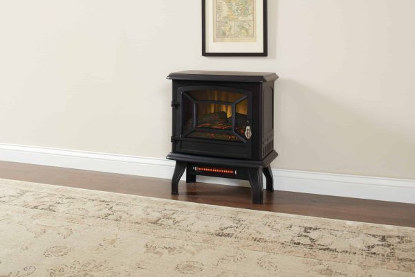17-In Infrared Electric Stove with 2 Stage Heater 3