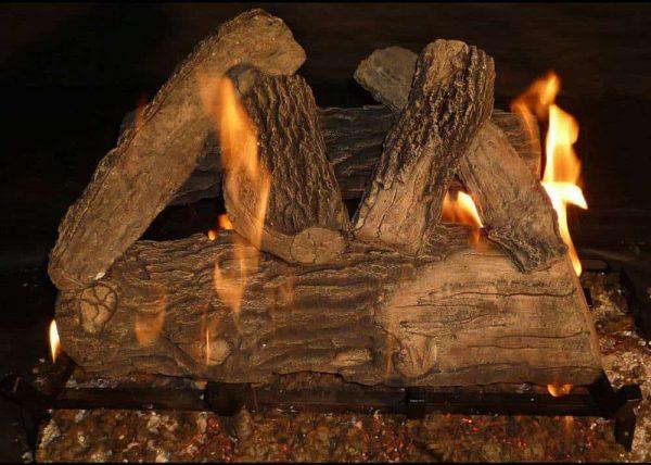 18 in. Glo-Fire Gas Logs 1