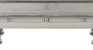"18"" 304 Stainless Steel Burner Pan With Log Lighter"