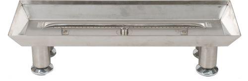 "18"" 304 Stainless Steel Burner Pan With Log Lighter"