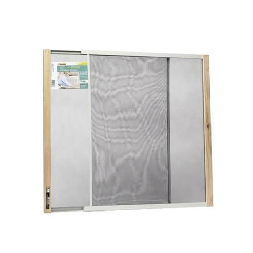 24-Inch x 21-37-Inch Extension Window Screen - Pack of 12 1