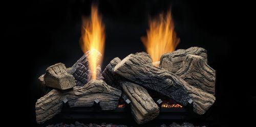 """27"""" Natural Blaze See-Through Log Set for NBST27 Burner - Logs Only"""