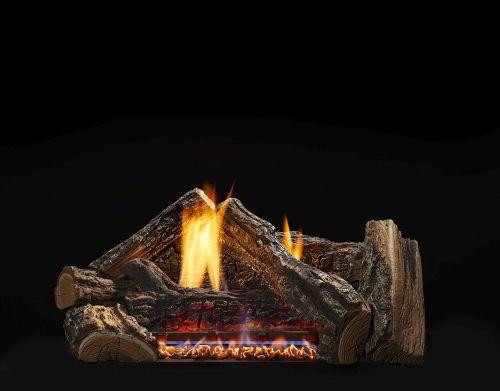 30'' Burncrete Hybrid 7 Piece Dynamo Log Set - LOGS ONLY