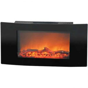 35 in. Wall Mount Electronic Fireplace