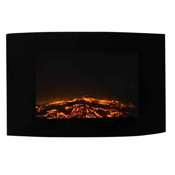 """35"""" XL Large 1500W Adjustable Electric Wall Mount Fireplace Heater W/Remote New"""