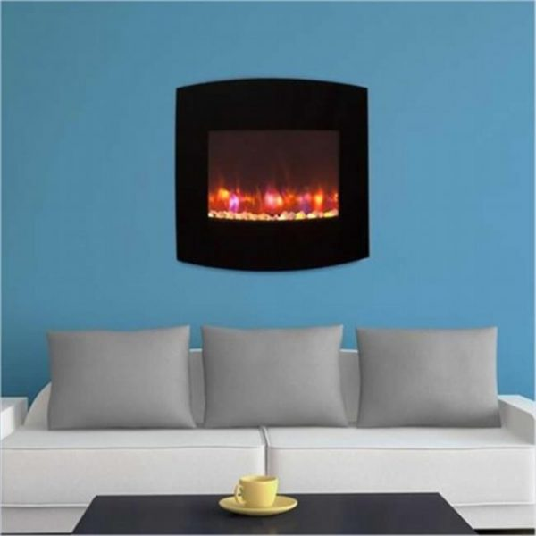 36 in. Gallery Radius Electric LED Fireplace