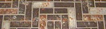 36'' x 48'' Brown Brick Stoveboard