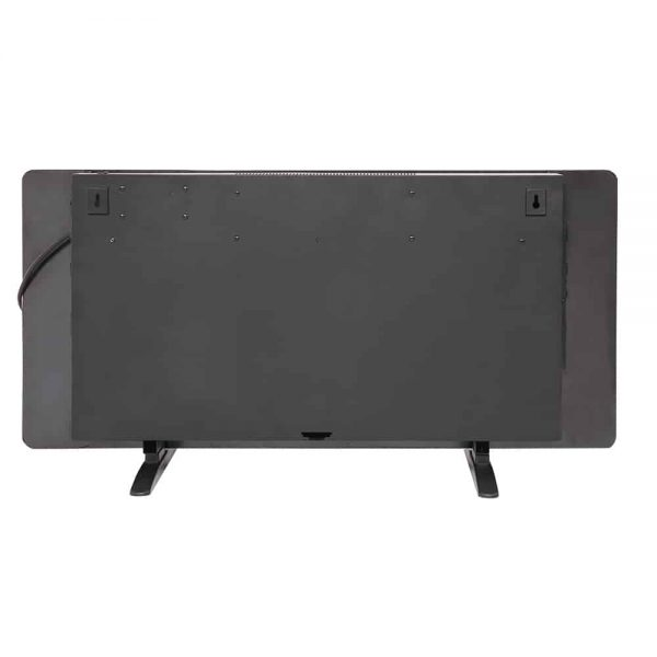 """36"""" Electric Fireplace Heater Wall Mounted or Freestanding Infrared Electric Fireplace Stove with Remote Control 9"""