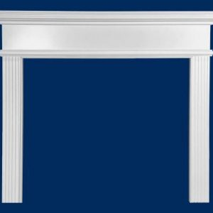"36"" Lawnsburg MDF Primed White Full Surround Mantel"