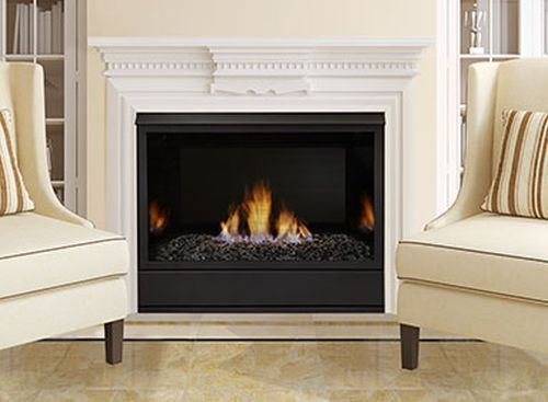 "36"" Vent Free Traditional IPI 37K BTU Fireplace System - NG"