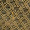 "39.5"" Gold Contemporary Single Paneled Fireplace Screen 7"
