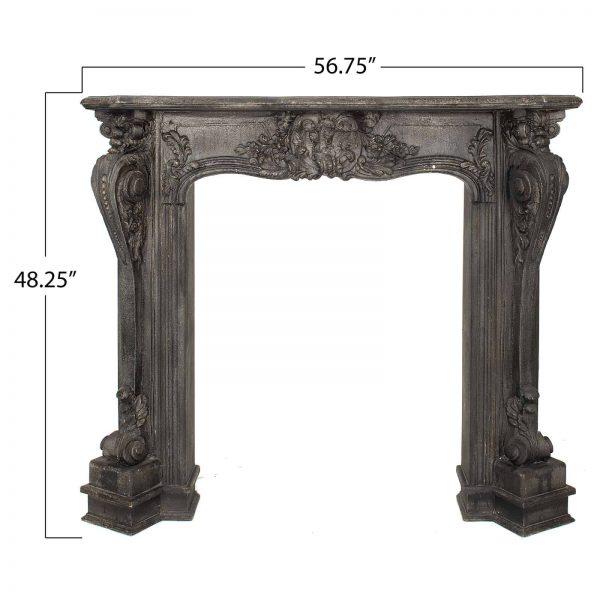 3R Studios Decorative Fireplace Mantel 4