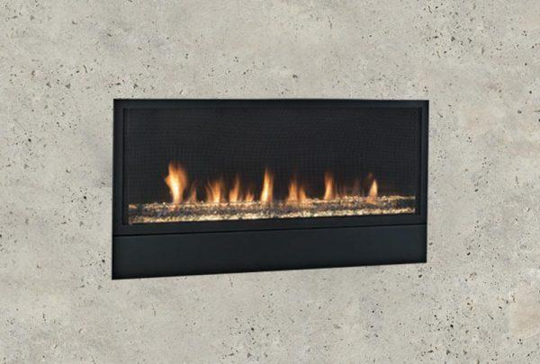 "42"" Artisan Vent Free Linear Fireplace"