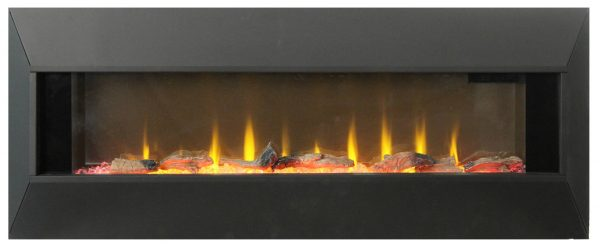"""42"""" On The Wall Fireplace with Mutiple Design Surrounds and 3D Flame and Remote 3"""