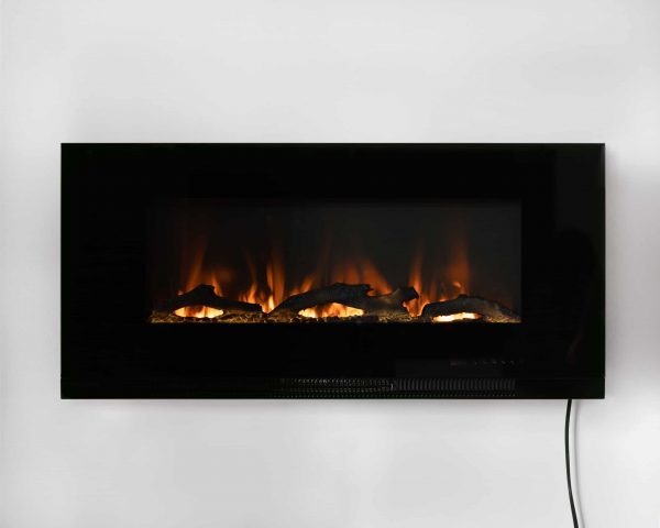 "42"" Wall Mount Electric Fireplace 15"