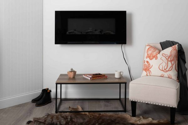 "42"" Wall Mount Electric Fireplace 19"