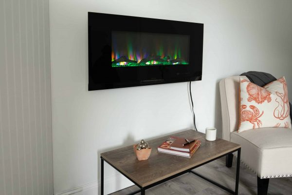 "42"" Wall Mount Electric Fireplace 20"
