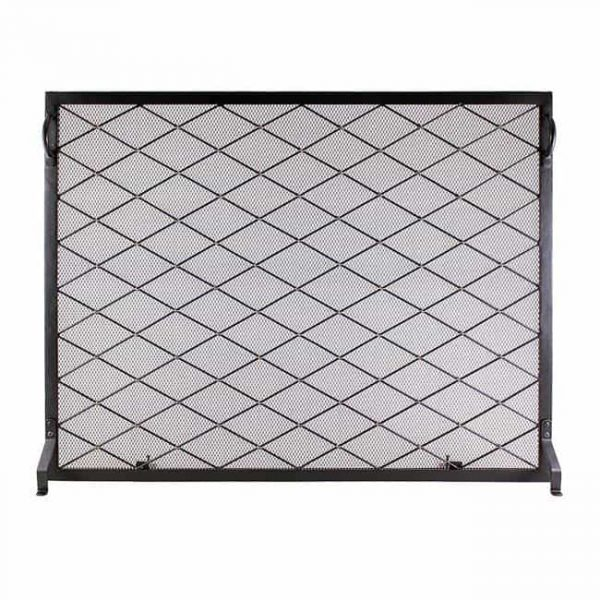 44 x 33 in. Harlequin Flat Fireplace Screen