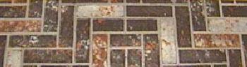 48'' Brown Brick Cornerboard