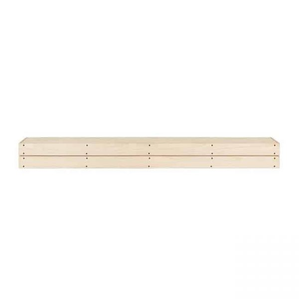 48 in. The Cades Cove Pallet Mantel Shelf - Unfinished