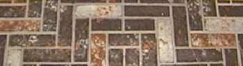 48'' x 60'' Brown Brick Stoveboard