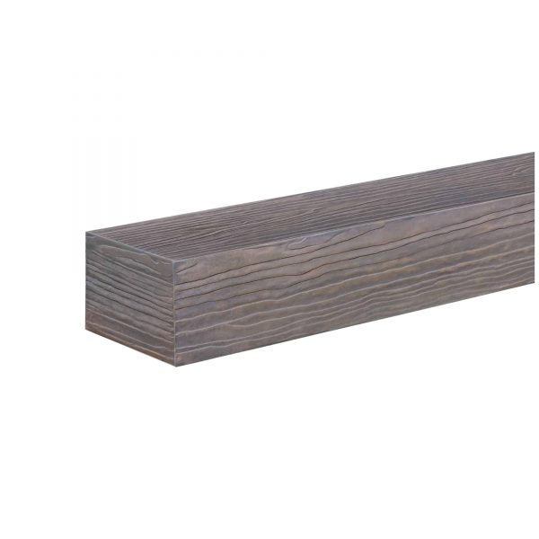 "48"" Little River Finish Zachary Non-Combustible Mantel Shelf 3"