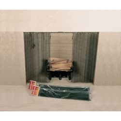 """48"""" X 26"""" Woodfield Hanging Fireplace Spark Screen"""