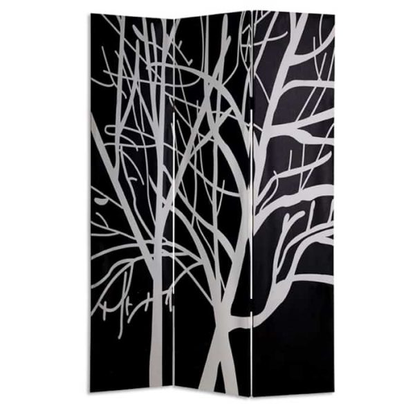 """48"""" X 72"""" Multi-Color Wood Canvas Tranquillity Screen"""
