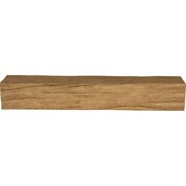 "4""H x 8""D x 84""W Riverwood Faux Wood Fireplace Mantel, Golden Oak 1"