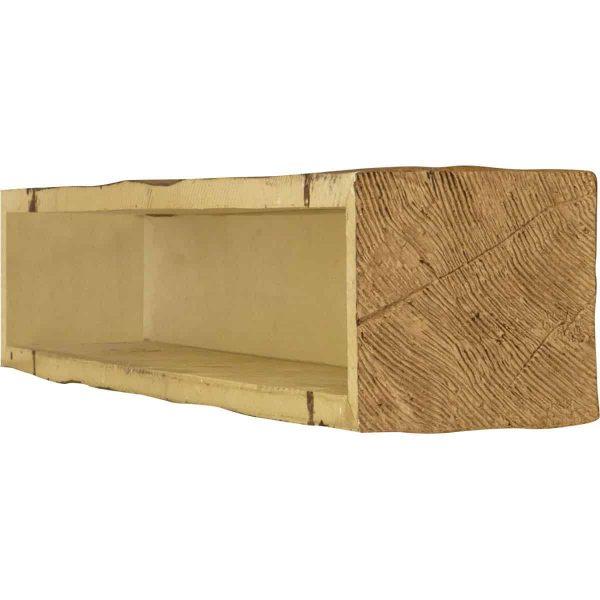 "4""H x 8""D x 84""W Riverwood Faux Wood Fireplace Mantel, Golden Oak 3"