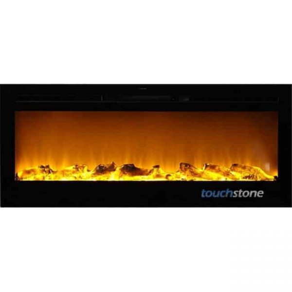 50 in. Wide Sideline Wall Mounted Electric Fireplace