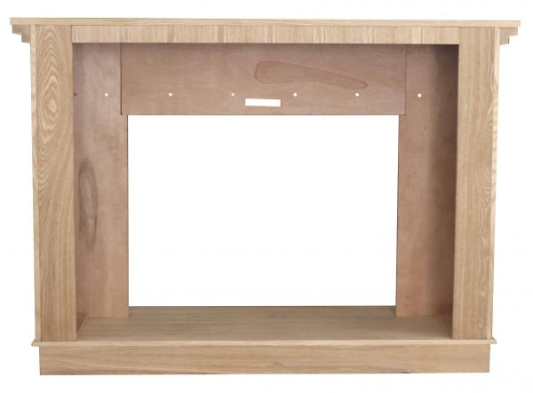 56-1/2 in. x 40-1/2 in. Unfinished Wood Mantel 5