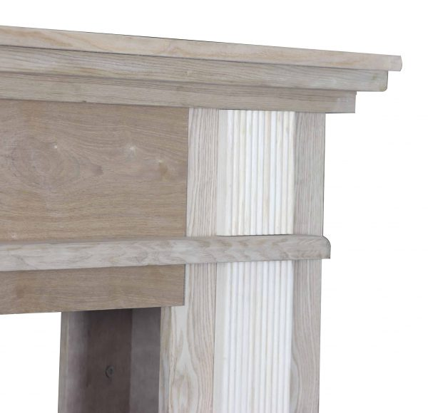 56-1/2 in. x 40-1/2 in. Unfinished Wood Mantel 6
