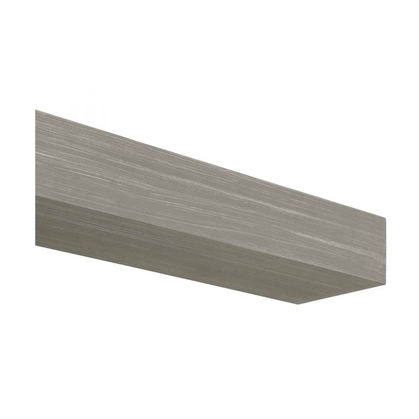 "60"" Gray Wash Finish Zachary Non-Combustible Mantel Shelf 3"