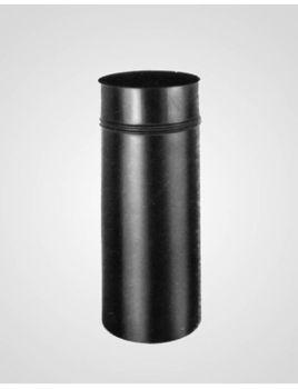 "6"" Black Drip Free Adapter -Snap Lock"