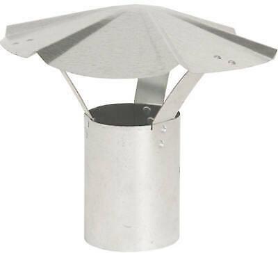 7-Inch Galvanized Rain Cap