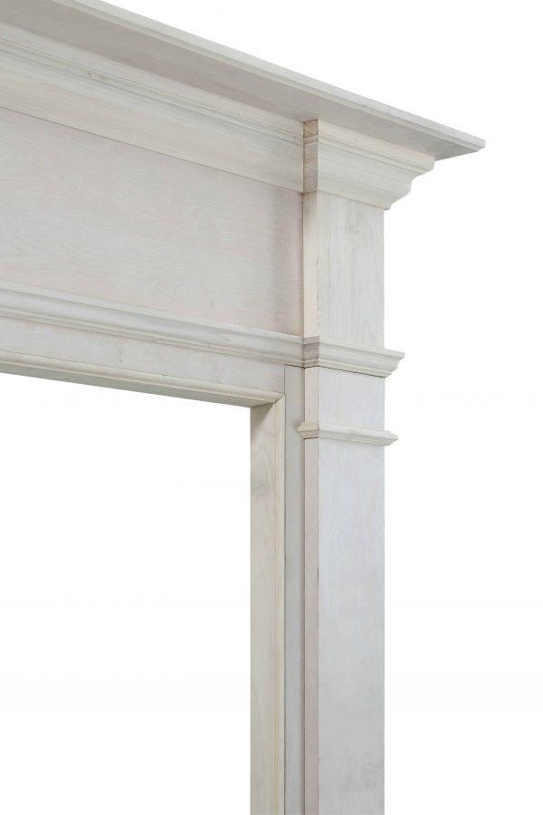 """71.5"""" Unfinished Wood Mantel Shelf 2"""