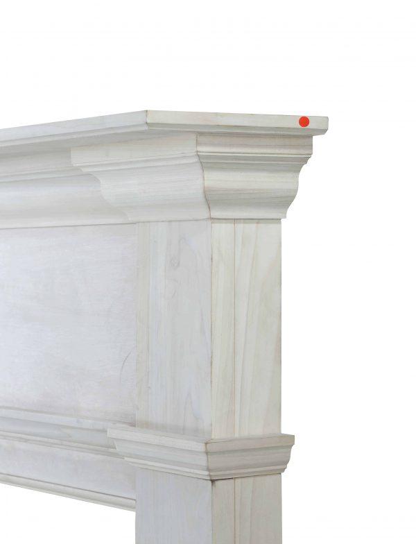 """71.5"""" Unfinished Wood Mantel Shelf 3"""