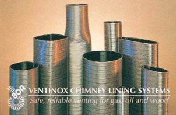 8 Inch TI-1808 VG AL29-4C Stainless Steel Liner - Priced Per Foot