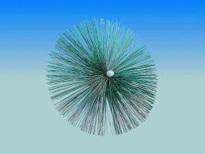 """8"""" Threaded Perlon Brush"""