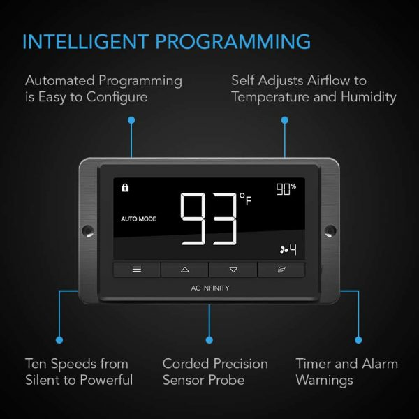 with Temperature and Speed Controller