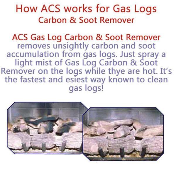 ACS Gas Log Carbon & Soot Remover-16 Oz. Spray Bottle 3