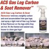 ACS Gas Log Cleaner Removes Carbon and Soot From Fireplace Gas Logs   1 Pint - 16oz. Spray Bottle 4