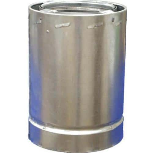 AIRJET INC 6-Inch Class A Triple Wall Chimney Pipe 6S3