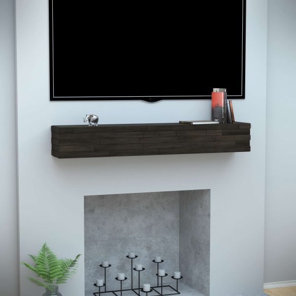 Abbi Floating Wall Mantel Shelf