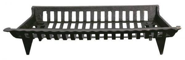 "Ace Fireplace Grate Cast Iron 27 "" W X 15 "" D Black"