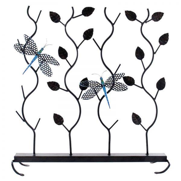 Achla Designs Dragonflies Summer Fireplace Screen 1